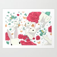 easter Art Prints featuring Easter by Devin McGrath
