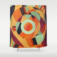circus Shower Curtains featuring Circus by VessDSign