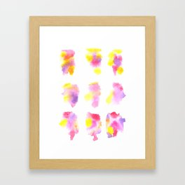 160122 Summer Sydney 2015-16 Watercolor #44 Framed Art Print