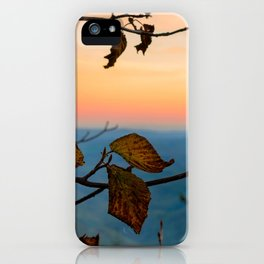 Turned Out to be Just Trees iPhone Case
