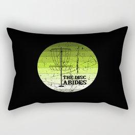 Disc Golf Vintage Rectangular Pillow