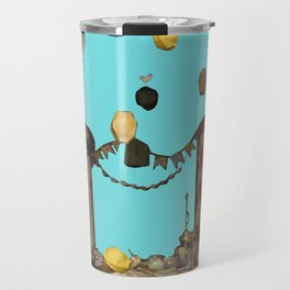 party lefovers - collage Travel Mug