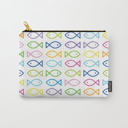 Colorful fishes Carry-All Pouch