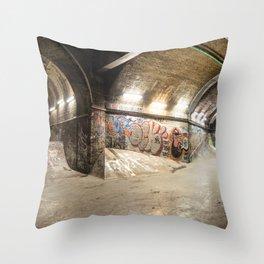 London Skate Park Throw Pillow