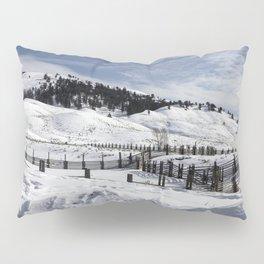 Carol M Highsmith - Snow Covered Hills Pillow Sham