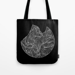 Inverted Crevice Tote Bag