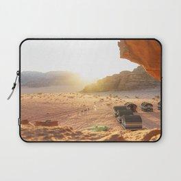 Desert Sunset in Wadi Rum, Jordan Laptop Sleeve