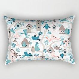 Bird family tree Rectangular Pillow
