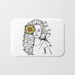 #STUKGIRL QUEEN Bath Mat