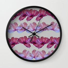 PETAL LINES Wall Clock