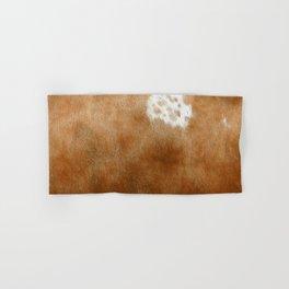 Brown Cowhide Farmhouse Decor Hand & Bath Towel