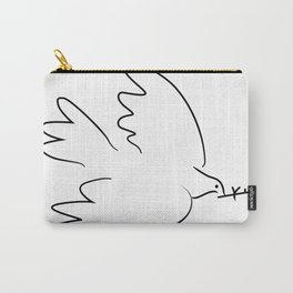 dove inspired from picasso Carry-All Pouch