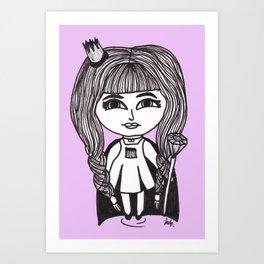 Queen Sasha Art Print