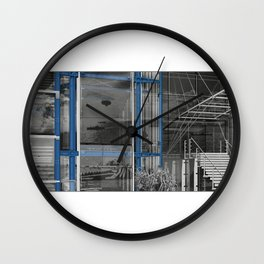 Register of Shipping 02 Wall Clock
