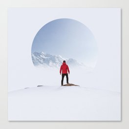 Portal to the Summit Canvas Print