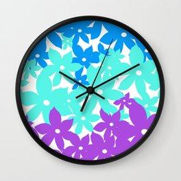Garden Glow II Wall Clock