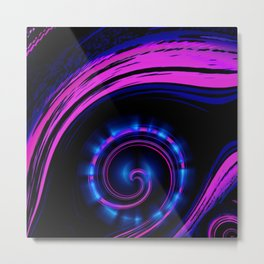 Fantasy Eye - Magic Metal Print