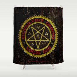 Occultist Union Local 666    019 Shower Curtain