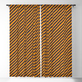Bumble bee stripes Blackout Curtain