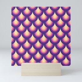 Rainbow Scales Mini Art Print