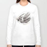 flight Long Sleeve T-shirts featuring Flight by Lilian Darmono