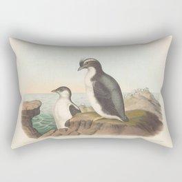 042 Temmincks Auk brachyramphus temminckii5 Rectangular Pillow