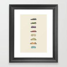VWs Framed Art Print