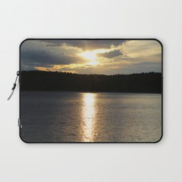 Sunset at Concord's Walden Pond 8 Laptop Sleeve