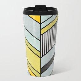 Abstract chevron pattern Travel Mug