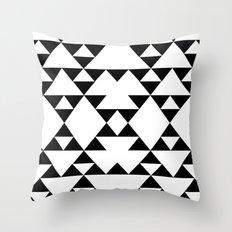 Tri-Tribe I Throw Pillow