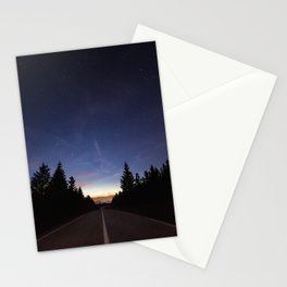 Night Heading Our Way Stationery Cards