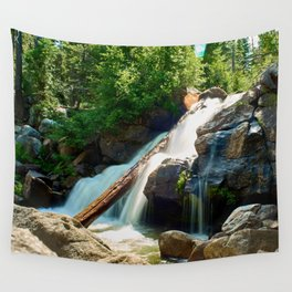 Peaceful Waterfall Wall Tapestry