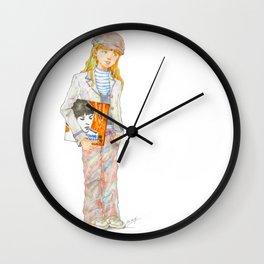 Indie Pop Girl vol.1 Wall Clock