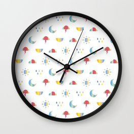 Weather Wall Clock