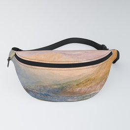 12,000pixel-500dpi - On the Mosell, Near Traben Trarbach - Joseph Mallord William Turner Fanny Pack