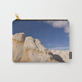 White Pocket Carry-All Pouch