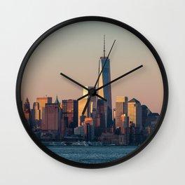 NEW YORK CITY 08 Wall Clock