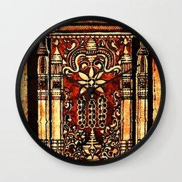 Bohemian Carvings Wall Clock