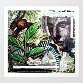 Garden Art - Water Goddess Art Print