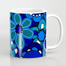Floral Print Coffee Mug