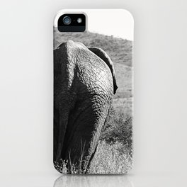 Elephant in Africa iPhone Case