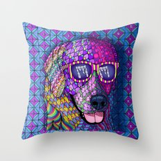 Feline Fascination II Throw Pillow