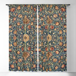 Holland Park Carpet by William Morris (1834-1896) Blackout Curtain
