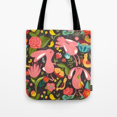 Bunnies in the wild Tote Bag
