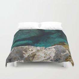 Cyprus Sea III Duvet Cover