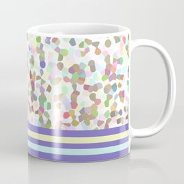 pastel dots with blue Coffee Mug