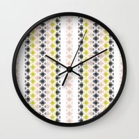 kilim Wall Clocks featuring Kilim 2 by 603 Creative Studio