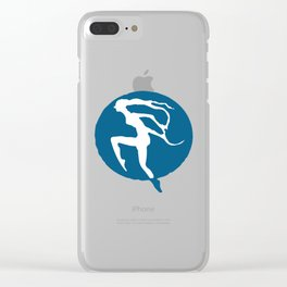 Japanese Nymph Clear iPhone Case