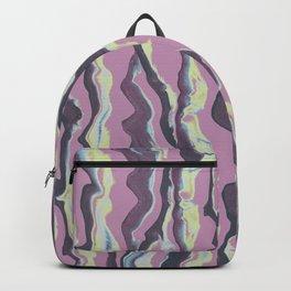 Liquescent purple Backpack