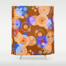 Hot Bubbles Shower Curtain